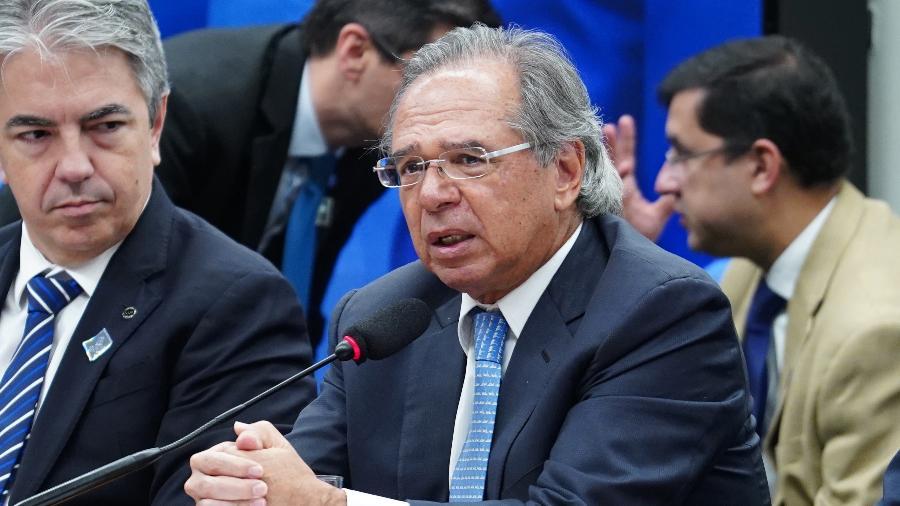 Ministro da Economia, Paulo Guedes - Pablo Valadares/Agência Câmara