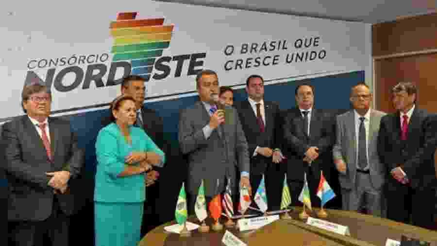 O governador da Bahia, Rui Costa (PT), é o presidente do Consórcio Nordeste, lançado em julho pelos governadores - Fernando Vivas/Governo da Bahia