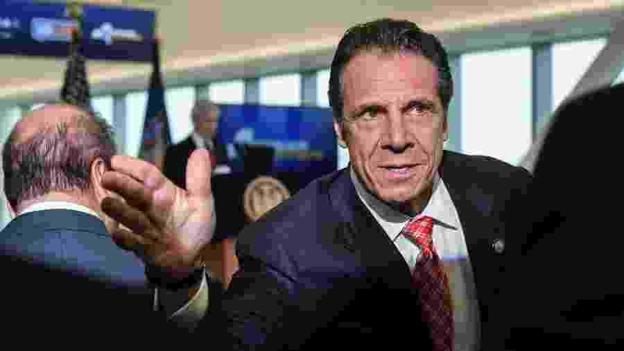 De acordo com Cuomo, Nova York só terá mais 6 dias de respiradores contra covid-19 - Stephanie Keith/Getty Images/AFP