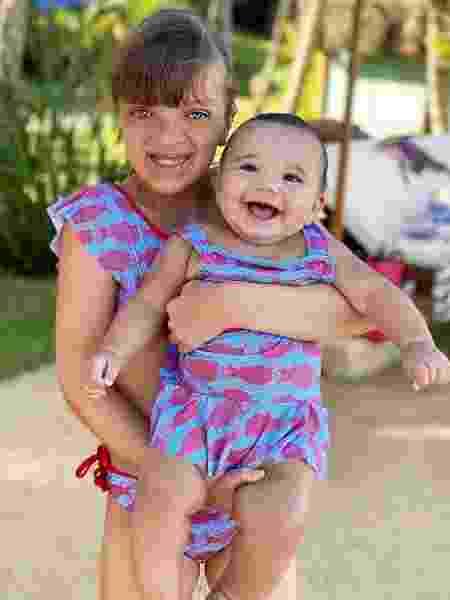 Rafaella Justus e Manuella, filhas de Ticiane Pinheiro - Reprodução/ Instagram