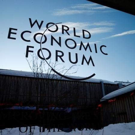 Fórum Econômico Mundial, em Davos - DENIS BALIBOUSE