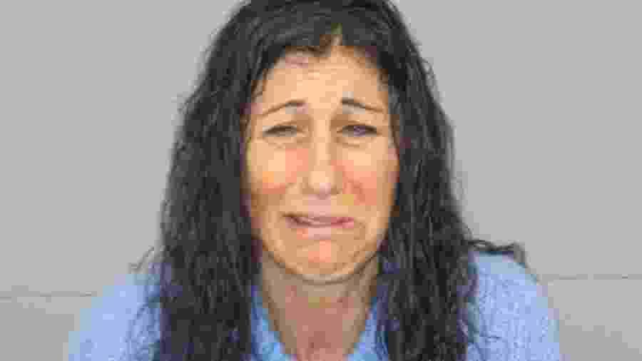 Mulher é detida após ser presa em flagrante defecando na rua - Reprodução/Natick Police Dept