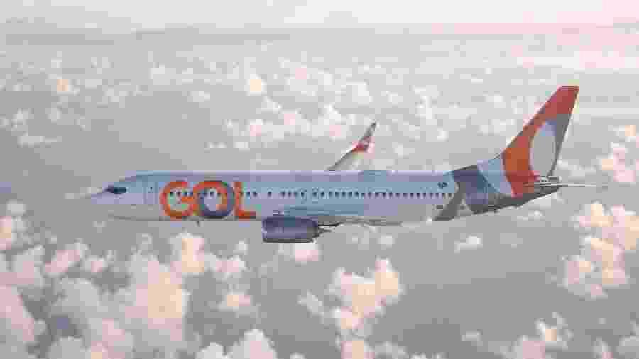 No mês passado, a Gol aumentou sua malha para aproximadamente 200 voos por dia - Divulgação
