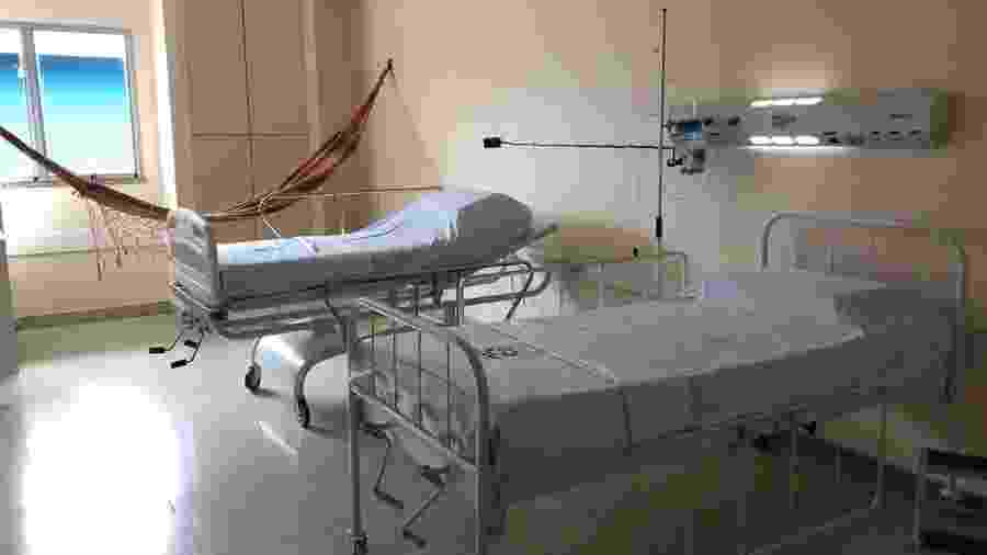 Ala hospitalar em Manaus destinada ao atendimento de índios infectados pelo novo coronavírus - Ascom/Ministério da Saúde