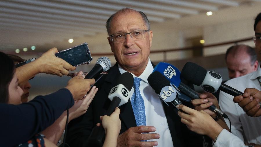 Ex-diretor do Metrô relata participação da cúpula do Palácio do Bandeirantes, na época chefiada por Geraldo Alckmin (PSDB), em negociações com a Odebrecht - Sergio Dutti/Governo de São Paulo
