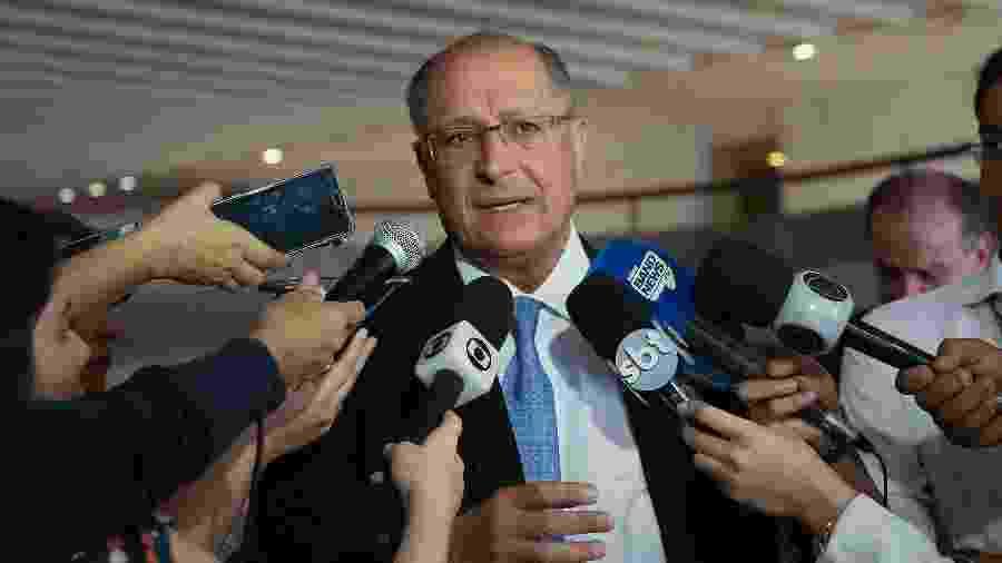 Ex-governador de SP, Geraldo Alckmin é réu por corrupção passiva, caixa 2 e lavagem de dinheiro - Sergio Dutti/Governo de São Paulo