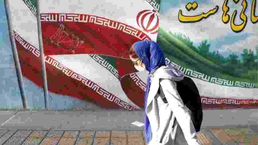"""De acordo com as autoridades iranianas, o Irã já enfrenta sua """"terceira onda"""" de casos de coronavírus - EPA"""