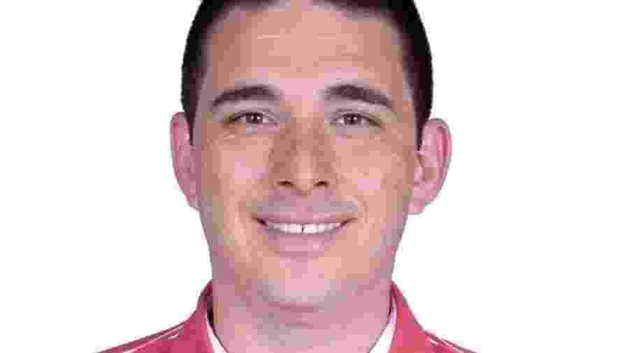13.02.2021 - Diogo Canata, vereador preso foi empossado hoje em Alvorada do Sul - Reprodução/Facebook
