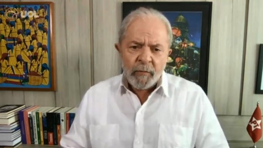 No recurso, os advogados de Lula argumentaram que não tiveram acesso à íntegra da documentação que embasa a denúncia - Reprodução/UOL