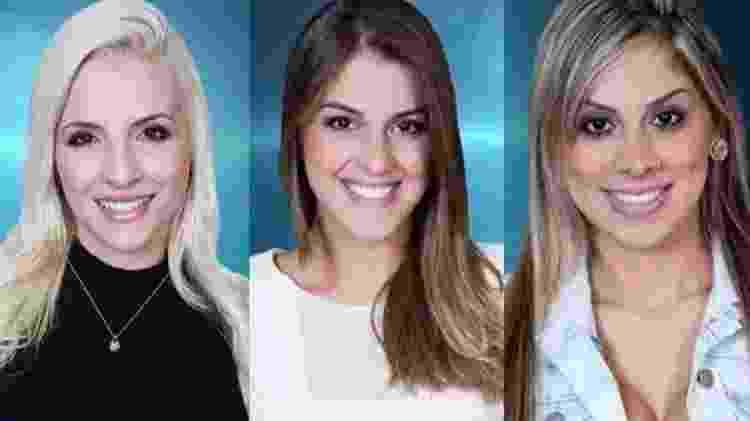 Clara, Angela e Vanessa no BBB 14 - Reprodução/TV Globo - Reprodução/TV Globo