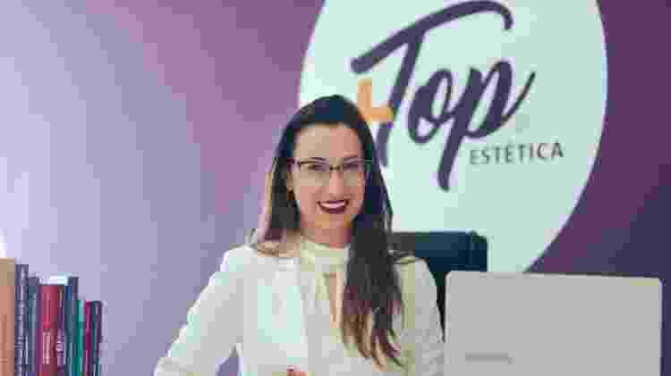 Natália Ribeiro ganhava R$ 712 num posto de saúde no PR e hoje fatura R$ 12 milhões com a Mais Top Estética - Divulgação - Divulgação