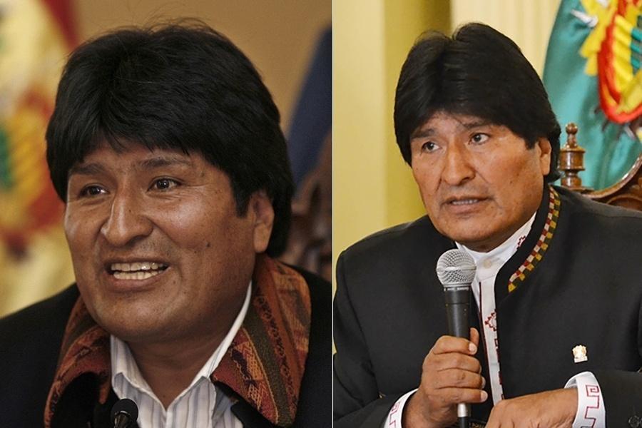 O presidente boliviano Evo Morales é um dos que está há mais tempo no cargo, mas parece que não sentiu tanto os efeitos da presidência. De 2006, quando tinha 46 anos, para 2016, a jovialidade pode ter ficado para trás em alguns postos do rosto, mas não houve mudança significativa aparente