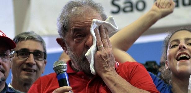 Hoje é o dia da indignação para mim, afirma Lula - Nelson Almeida/AFP