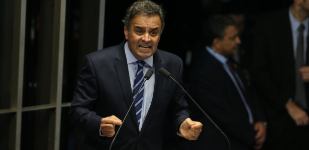 O senador afastado Aécio Neves (PSDB-MG)