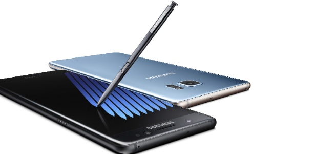 Galaxy Note 7 da Samsung