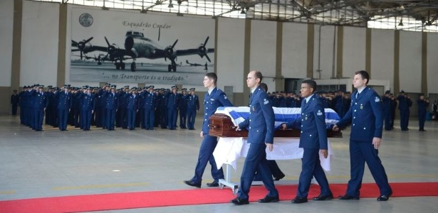 A cerimônia foi realizada na Base Aérea do Galeão, no Rio de Janeiro
