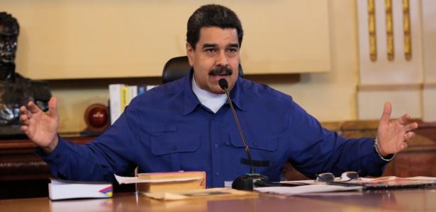 O presidente da Venezuela, Nicolás Maduro - Presidência de Venezuela - 1.jun.2017/Xinhua