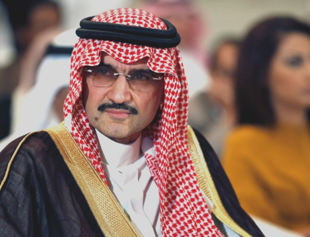 O príncipe saudita bilionário AlWaleed bin Talal - Hamad I Mohammed/REUTERS