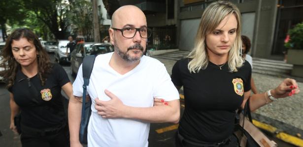 23.fev.2018 - Orlando Diniz, então presidente da Fecomércio-RJ, foi preso pela PF - Wilton Junior/Estadão Conteúdo