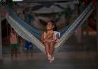 Refugiados venezuelanos em Roraima - Mauro Pimentel/AFP