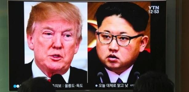 Encontro entre Trump e Kim Jong-un deverá ocorrer no mês que vem