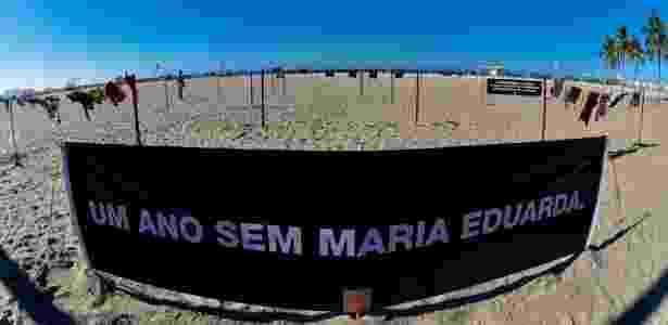 30.mar.2018 - Maria Eduarda foi morta por bala perdida dentro da Escola Municipal Jornalista e Escritor Daniel Piza, em Acari - Thiago Ribeiro/Agif/Estadão Conteúdo - Thiago Ribeiro/Agif/Estadão Conteúdo