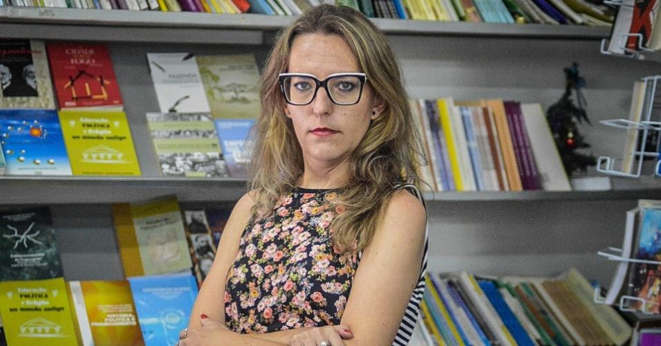 A historiadora Sabrina Steinke, que pesquisa a atuação da repressão na fronteira do Brasil com a Argentina