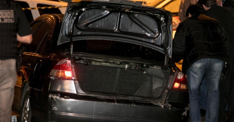 06.ago.2018 - O corpo da policial militar Juliane dos Santos Duarte foi encontrado na mala de um carro, na Zona Sul de São Paulo