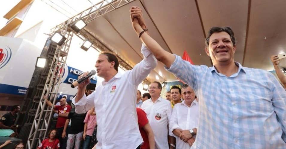 Após 'apoio crítico' de Cid | Haddad se apoia em Camilo para tentar crescer no Ceará