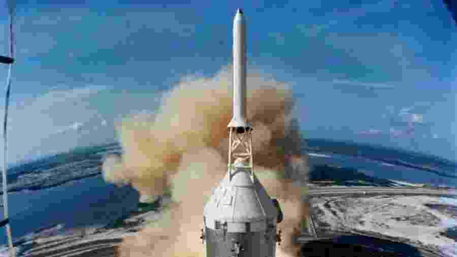 Lançamento do foguete Saturno 5, que levou a missão Apollo 11 ao espaço - Nasa/Divulgação