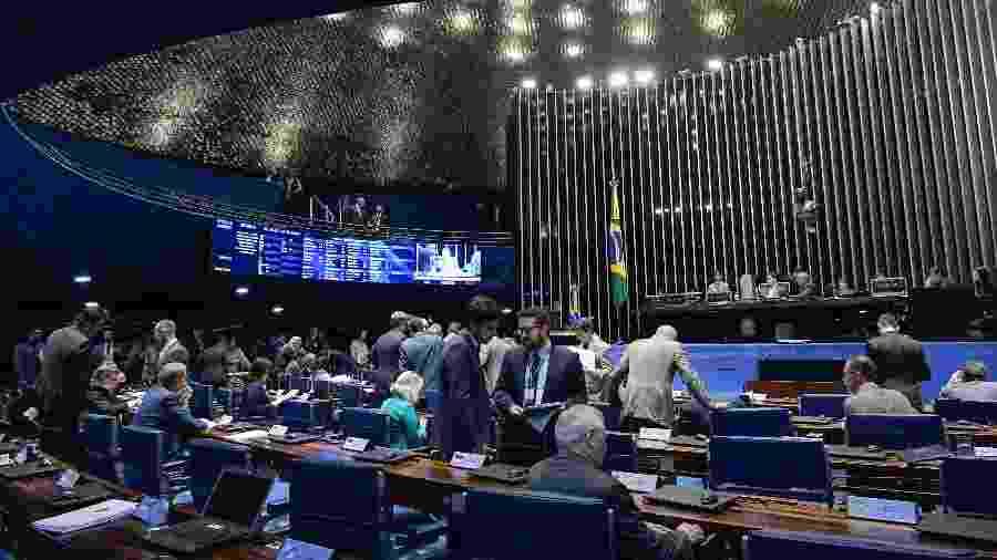 3.abr.2019 - Plenário do Senado Federal - Waldemir Barreto/Agencia Senado
