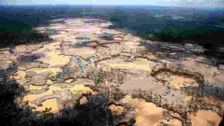 Desmatamento da Amazônia no Peru - WFU/ACERS