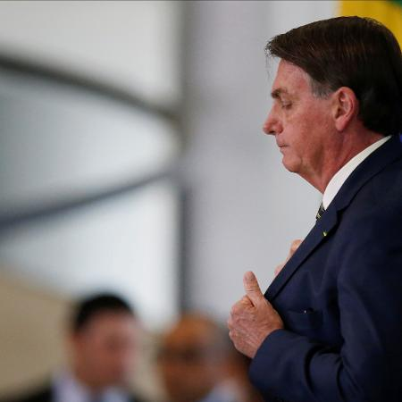 Presidente Jair Bolsonaro no Palácio do Planalto -