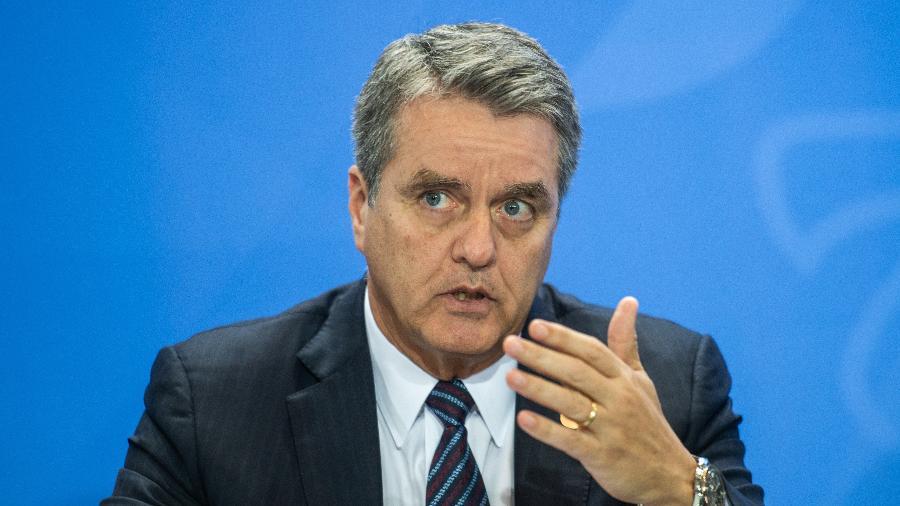 Roberto Azevêdo, diretor-geral da OMC (Organização Mundial do Comércio) - Arne Immanuel Bänsch/picture alliance via Getty Images