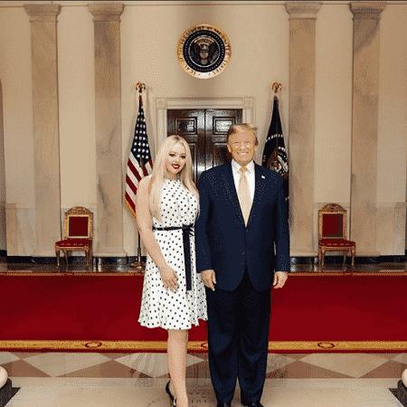 Tiffany (foto), filha de Trump, pediu justiça para George Floyd nas redes sociais - Reprodução/Instagram