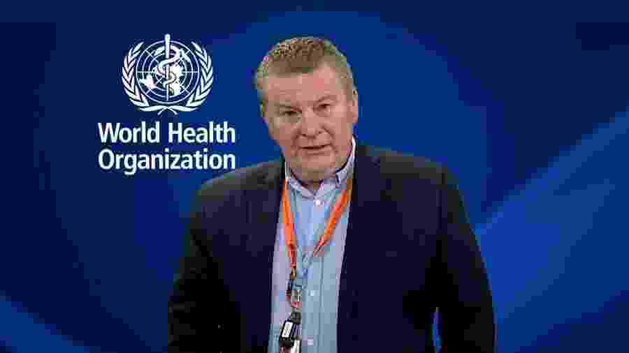 """Michael Ryan, da OMS (Organização Mundial de Saúde): situação do Brasil na pandemia """"continua a ser de muita preocupação"""" - Reprodução/OMS"""