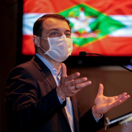 Maioria de deputados aprova afastamento do governador Carlos Moisés (PSL), acusado de crime de responsabilidade - Maurício Vieira/Secom/Governo de Santa Catarina