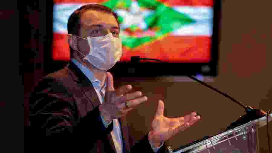 O governador de Santa Catarina, Carlos Moisés (PSC) - Maurício Vieira/Secom/Governo de Santa Catarina