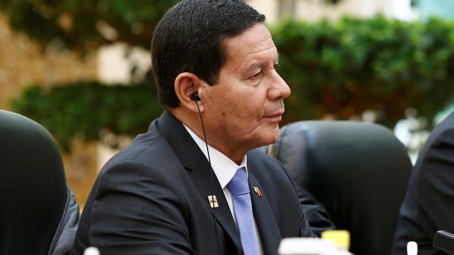 O vice-presidente Hamilton Mourão diz que é necessário captar investimentos estrangeiros para realizar ações na Amazônia -