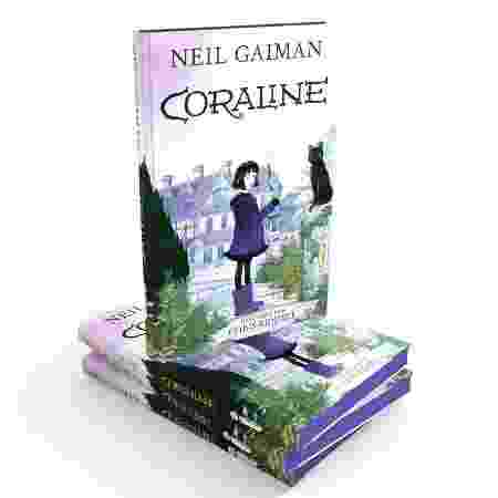 4º - Coraline (Neil Gaiman) - Intrínseca - Reprodução/Amazon - Reprodução/Amazon