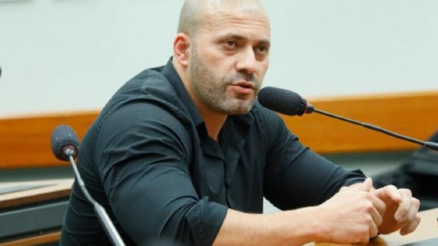 O deputado federal Daniel Silveira (PSL-RJ) - Maryanna Oliveira/Câmara do Deputados
