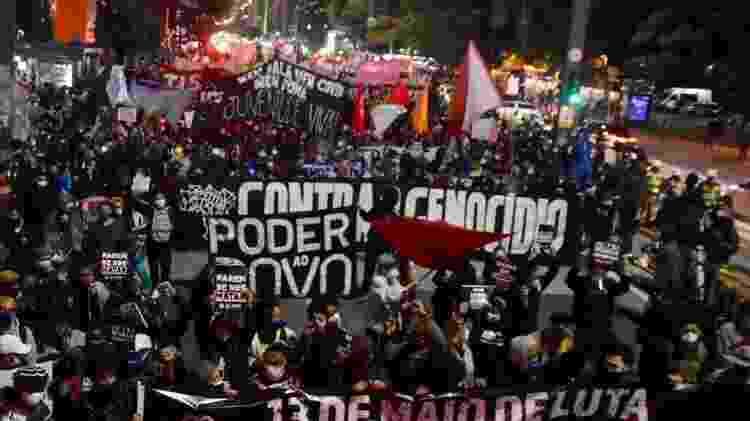 13 de maio - Dia Nacional de Denuncia Contra o Racismo, em São Paulo - Caio Chagas - Caio Chagas