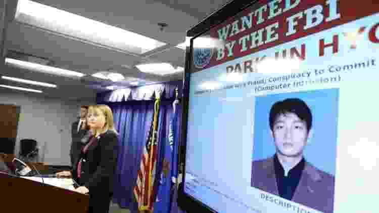 Hacker procurado pelo FBI - Getty Images - Getty Images
