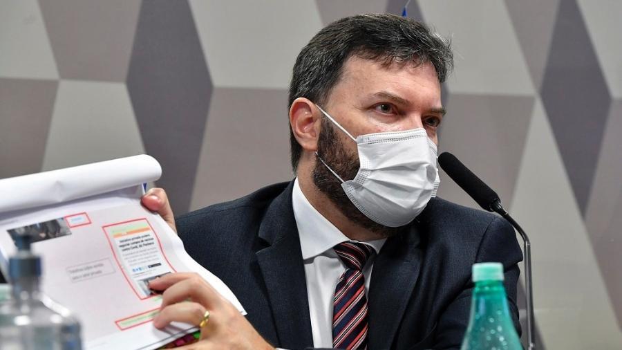 """Segundo Marcelo Blanco, denúncia sobre suposta propina é """"absolutamente desconectada da realidade"""" - Leopoldo Silva/Agência Senado"""