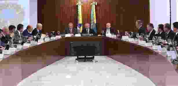 Ministério só de homens de Temer - Divulgação/Facebook - Divulgação/Facebook