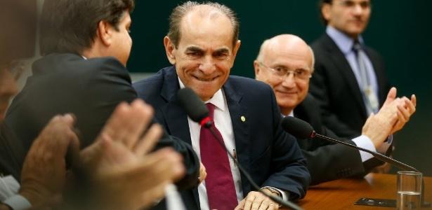 O deputado e ex-ministro Marcelo Castro (PMDB-PI), candidato à presidência da Câmara