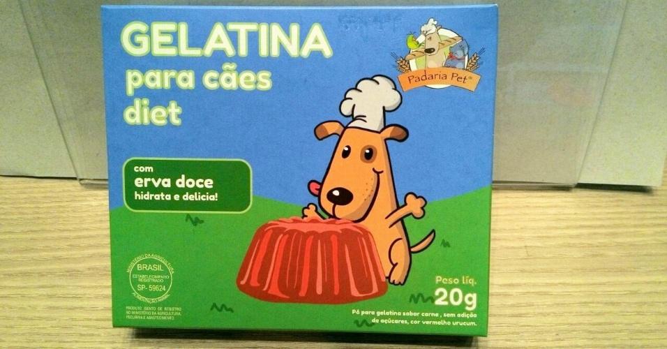 Padaria Pet gelatina diet para cães e gatos