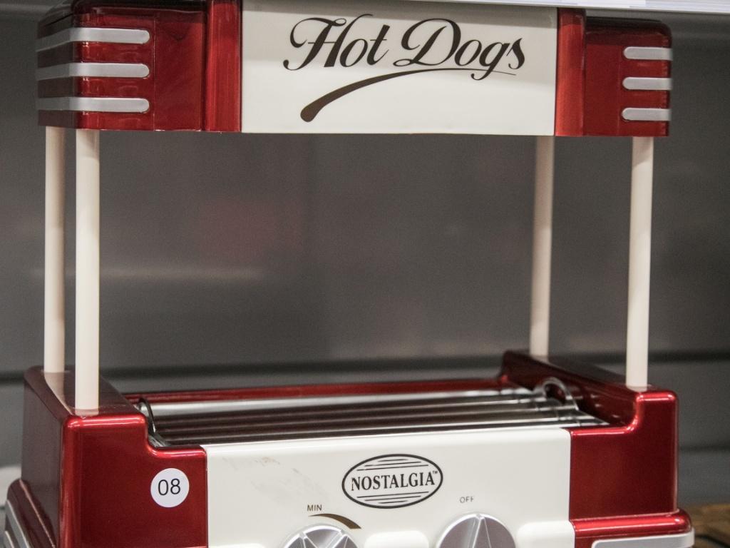 Máquina de cachorro quente da Zôdio