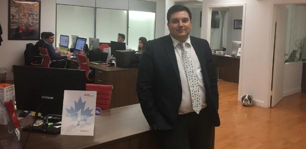 Renato Feldmann dono da agência One Immigration, no Canadá - Divulgação