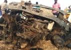 Nigerianos que fugiram do Boko Haram voltam para suas casas, mas encontram cidade precária - AFP